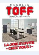 Prospectus Meubles Toff : La joie s'invite chez vous