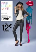 Promos et remises  : Kiabi colore la vie : Collection Hiver