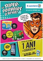 Prospectus E.Leclerc : Les super-pouvoirs d'achat #5