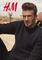 Catalogues et collections H&M : Les essentiels sélectionnés par David Beckham