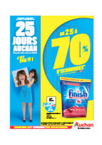 Prospectus Auchan : 25 jours Auchan c'est parti !