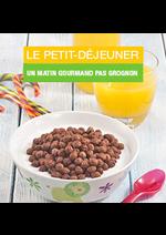 Promos et remises Monoprix : Le petit-déjeuner. Un matin gourmand pas grognon