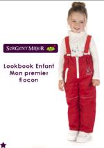 Catalogues et collections Sergent Major : Lookbook enfant Mon premier flocon