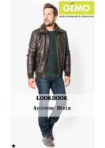 Promos et remises  : Lookbook automne-hiver homme