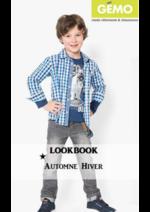 Promos et remises  : Lookbook automne-hiver garçon