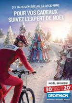 Prospectus DECATHLON : Pour vos cadeaux suivez l'expert de Noël