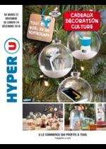 Prospectus Hyper U : Cadeaux décoration culture