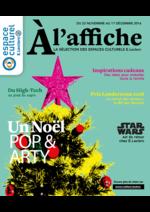 Promos et remises  : Un Noël Pop & Arty