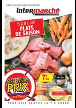 Prospectus Intermarché Super : Spécial plats de saison