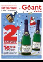 Prospectus Géant Casino : La 2ème gratuite