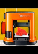 Promos et remises  : Nouveau ! Découvrez l'imprimante 3D da Vinci Mini