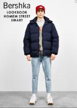 Catálogos e Coleções Bershka : Lookbook homem Street Smart