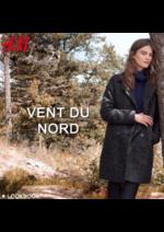 Catalogues et collections H&M : Lookbook femme, vent du Nord