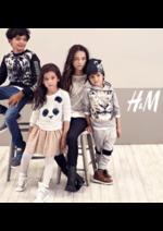 Promos et remises  : Catalogue enfant: H&M soutient WWF