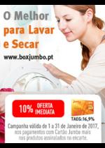 Promoções e descontos Jumbo : O Melhor para Lavar e Secar