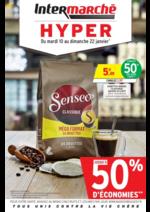 Prospectus Intermarché Hyper : Jusqu'à 50% d'économies