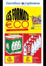 Prospectus Carrefour : Les formats éco : j'économise un max !