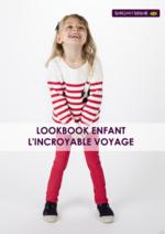 Catalogues et collections Sergent Major : Lookbook enfant L'incroyable voyage