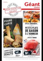 Prospectus Géant Casino : Petits plats de saison à l'honneur