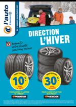 Prospectus L'auto E.Leclerc : Direction l'hiver