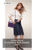 Catalogues et collections Caroll : Lookbook Élégance Parisienne