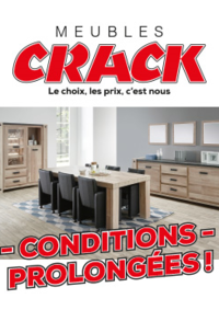 Prospectus Meubles Crack : Conditions prolongées !