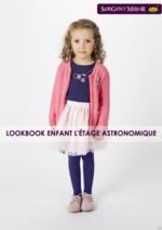 Promos et remises  : Lookbook enfant L'étage astronomique