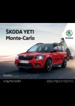 Promos et remises  : Skoda Yeti Monte-Carlo