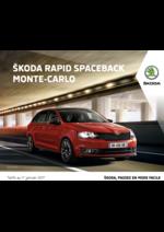 Promos et remises  : La nouvelle Skoda Rapid Spaceback Monte-Carlo