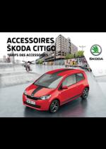 Promos et remises  : Le tarif des accessoires Skoda Citigo