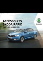 Promos et remises  : Tarifs des accessoires Skoda Rapid