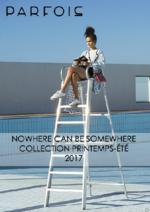 Promos et remises  : Nowhere can be somewhere - Collection printemps-été 2017
