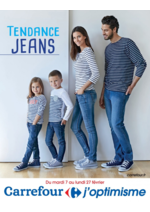 Prospectus Carrefour : Tendance jeans