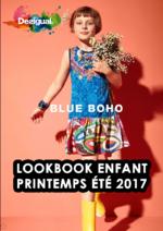 Catalogues et collections Desigual : Lookbook enfant printemps été 2017