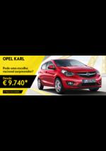 Promoções e descontos Opel : Opel KARL desde 9.740 €* na troca do seu carro antigo