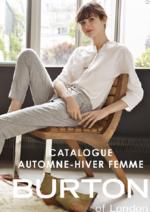 Catalogues et collections Burton : Catalogue automne-hiver 2016-2017 femme