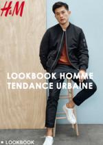 Catalogues et collections H&M : Lookbook homme Tendance urbaine