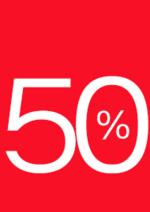 Promoções e descontos  : -50% no segundo artigo