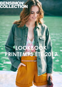 Catalogues et collections Bensimon Saint-Germain-en-Laye : Lookbook printemps été 2017