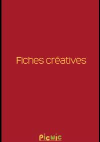 Prospectus Picwic GENNEVILLIERS : Fiches créatives
