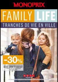 Prospectus Monoprix LE CHESNAY : Family life