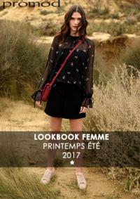 Catalogues et collections Promod Creteil : Lookbbook printemps été 2017
