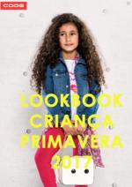Catálogos e Coleções New Code : Lookbook Criança primavera 2017
