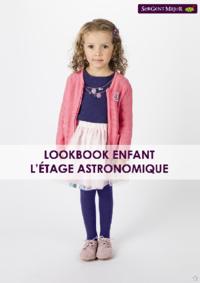 Catalogues et collections Sergent Major Anderlecht : Lookbook enfant L'étage astronomique