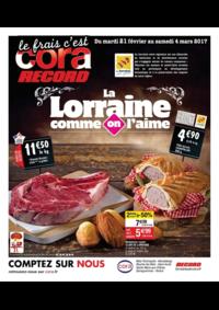 Prospectus Cora LONGEVILLE-LÈS-SAINT-AVOLD : La Lorraine comme on l'aime