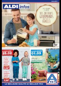 Prospectus Aldi Aulnay-sous-Bois : Des instants gourmands pour toute la famille