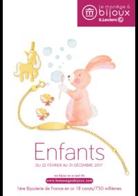 Catalogues et collections le manège à bijoux E.Leclerc Nanterre : Le catalogue Enfants