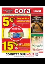 Prospectus Cora : Ça bouge chez Cora Creil