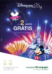 Catálogos e Coleções Viagens El Corte Inglés Lisboa Liberdade : Disney Festa Mágica