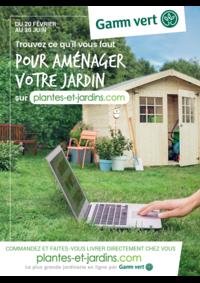 Prospectus Gamm vert nature LOUVRES : Trouvez ce qu'il faut pour aménager votre jardin